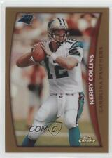 1998 Topps Chrome Refractor #155 Kerry Collins Carolina Panthers Football Card