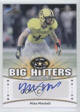 2013 Leaf US Army All-American Bowl Big Hitters #BH-MM1 Michael Mitchell Auto