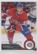 2014-15 Upper Deck #106 Michael Bournival Montreal Canadiens Hockey Card