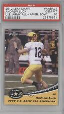 2012 Leaf US Army All-American Bowl 2008 #AAB-AL1 Andrew Luck PSA 10 U.S. Card