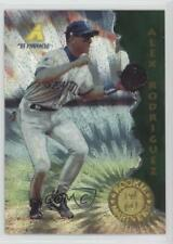 1995 Pinnacle Museum Collection #132 Alex Rodriguez Seattle Mariners Card