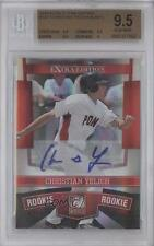 2010 Donruss Elite Extra Edition 147 Christian Yelich BGS 9.5 Miami Marlins Auto
