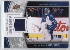 2013 Upper Deck Series One UD Game Jersey GJ-RL Roberto Luongo Vancouver Canucks