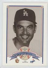 1989 Smokey Bear A Century of Dodger Greats #79 Jim Brewer Los Angeles Dodgers