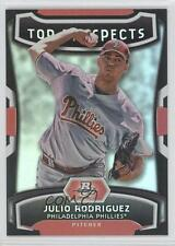 2012 Bowman Platinum Top Prospects #TP-JR Julio Rodriguez Philadelphia Phillies