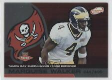 2002 Pacific Atomic Non-Die Cut #124 Marquise Walker Tampa Bay Buccaneers Card