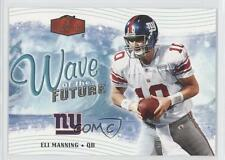 2006 Flair Showcase Wave of the Future #WOTF8 Eli Manning New York Giants Card