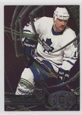 1996-97 Fleer Metal #148 Wendel Clark New York Islanders Hockey Card