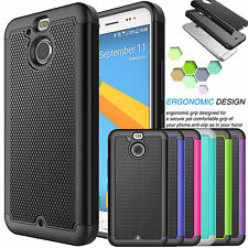 Armor Silcone Shockproof Rugged Rubber Hard Case Cover For HTC Bolt / HTC 10 Evo