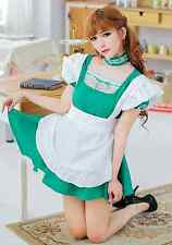 Japanese Girls Maid Costume Sexy Maids Outfit Fancy Cosplay Dress