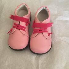 Little Blue Lamb Girls Pink Leather Shoes
