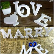 Wooden Alphabet Name Words/Letters Wall/Door Sign Wedding Party Home Shop Decor