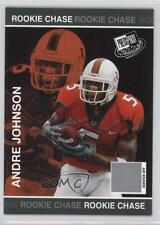 2003 Press Pass Rookie Chase Entry #RC3 Andre Johnson Miami Hurricanes Card