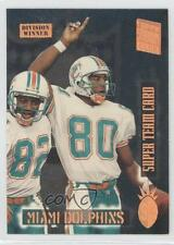 1994 Topps Stadium Club Super Teams Redeemed Division Winners #16 Miami Dolphins