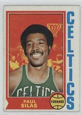 1974-75 Topps #9 Paul Silas Boston Celtics Basketball Card