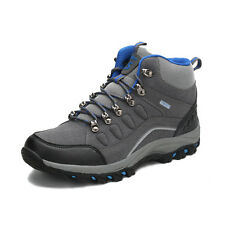 GOMNEAR men Warm Fur outdoor trail hiking boots athletic climbing non slip shoes