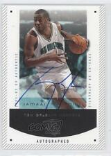 2002 SP Authentic 60-A Autographed Jamaal Magloire New Orleans Hornets Auto Card