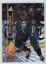 1994 Pinnacle Rink Collection #512 Stu Grimson Anaheim Ducks (Mighty of Anaheim)