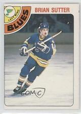 1978-79 O-Pee-Chee #319 Brian Sutter St. Louis Blues RC Rookie Hockey Card