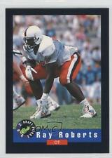 1992 Classic Draft Picks Factory Set Base 10 Ray Roberts Virginia Cavaliers Card