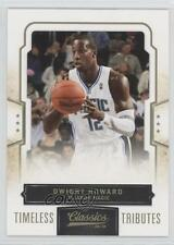 2009 Panini Classics Gold Timeless Tributes #78 Dwight Howard Orlando Magic Card