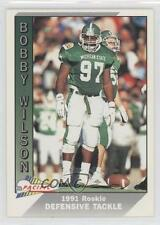 1991 Pacific #390 Bobby Wilson Michigan State Spartans Rookie Football Card