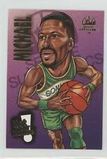 1993-94 Taco Time Seattle Supersonics #9 Michael Cage Basketball Card