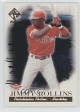2001 Pacific Private Stock 143 Jimmy Rollins Philadelphia Phillies Baseball Card