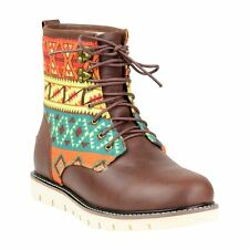Sara Brown Mid Ankle Lace Up UGG Boot Made in Australia JUMBUCK UGG Boot 10 Lady