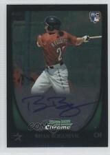 2011 Bowman Chrome Rookie Autograph 209 Brian Bogusevic Houston Astros Auto Card