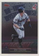 1999 Topps All-Topps Mystery Finest M5 Jim Thome Cleveland Indians Baseball Card