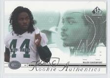 2002 SP Authentic #173 Najeh Davenport Green Bay Packers RC Rookie Football Card
