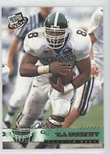 2002 Press Pass #11 TJ Duckett Michigan State Spartans T.J. Rookie Football Card