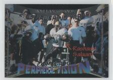 1995 Signature Rookies Peripheral Vision International #V1 Rashaan Salaam Card