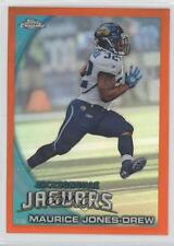 2010 Topps Chrome Rack Pack Orange Refractor #C145 Maurice Jones-Drew Card