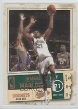 2004 Fleer Authentix Club Box #62 Jamaal Magloire Charlotte Hornets New Orleans