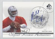 2002 SP Authentic #210 Ronald Curry Oakland Raiders Auto RC Rookie Football Card