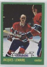 1973-74 Topps #56 Jacques Lemaire Montreal Canadiens Hockey Card