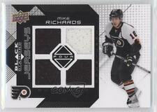 2008-09 Upper Deck Black Diamond Quad Jerseys #BDJ-RI Mike Richards Hockey Card