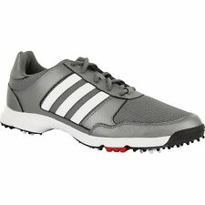 ADIDAS TECH RESPONSE GOLF SHOES F33551 IRON METALLIC/WHITE/CORE BLACK MENS