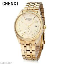 CHENXI 069A Male Quartz Watch Working Sub-dial Japan Movt 3ATM Wristwatch