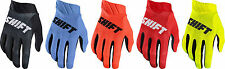 NEW 2017 SHIFT RACING MENS GUYS ADULT SX MX ATV RIDING 3LACK AIR GLOVES AIRLINE
