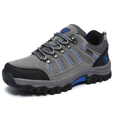 GOMNEAR big size men trail hiking shoes athletic antiskid climbing outdoor shoes
