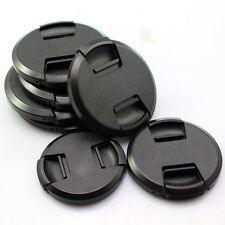 49/52/55/58/62/67/72/77/82mm Center-Pinch Snap-on Front Lens Cap Cover for Nikon