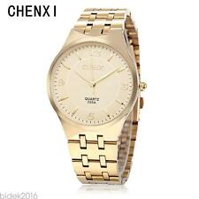 CHENXI 055A Male Quartz Watch Japan Movt Ultrathin Dial 30M Water  Wristwatch