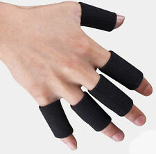 Kuangmi Support Guard Wrap 5Pcs Stretchy Finger Basketball Sleeves Arthritis