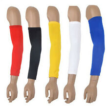 Men Basketball Baseball Sport Shooting Sleeve Stretch Wristband Arm Band Sleeve