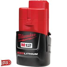 SALE Milwaukee M12 12-Volt Lithium-Ion Battery Power Tool Batteries Charger