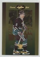 1996 Leaf Limited Gold #64 Teemu Selanne Anaheim Ducks (Mighty of Anaheim) Card