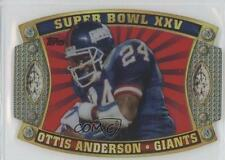 2011 Topps Super Bowl #SB-25 Ottis Anderson New York Giants Football Card